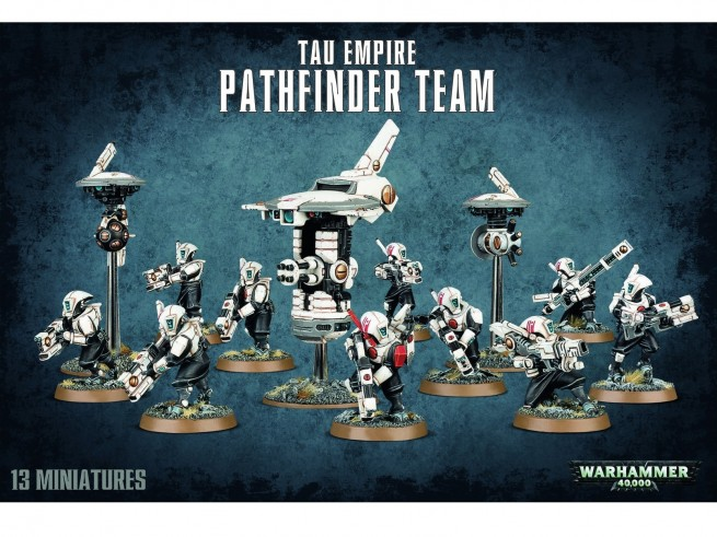 Warhammer 40,000: Tau Empire Pathfinder Team