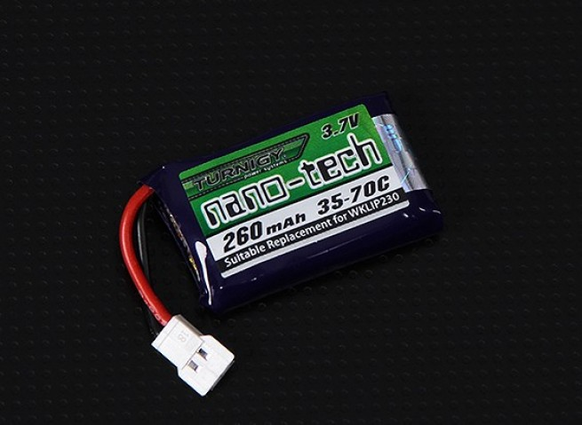 Akumulator Turnigy nano-tech 260mAh 1S 35C