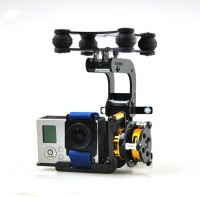 Brushless gimbal do GoPro3 gotowy do pracy