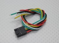 Złacze do nadajnika Fatshark 5 Pin Molex Connection Lead (Suits Fatshark)