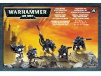 Warhammer 40,000: Space Marine Scouts With Sniper Rifles