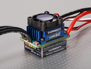 Regulator Turnigy Brushless ESC 60A w/ Reverse prog. (v2.2)