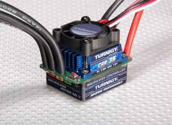 Regulator Turnigy Brushless ESC 35A CAR ESC