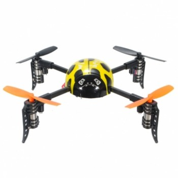 Mini quadcopter Beetle Żółty WLV939