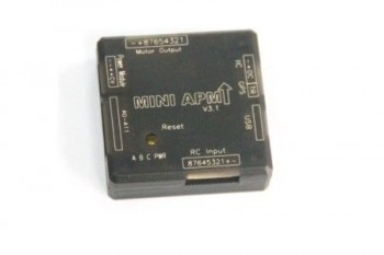MiniAPM V3.1 Mini ArduPilot Mega 2.6 External Compass APM Flight Controller for Multicopter FPV
