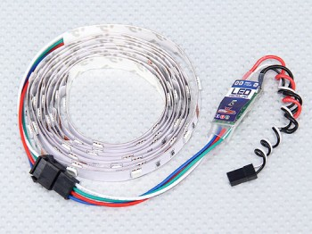 LED kolorowy z regulatorem