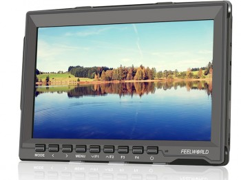 "FPV Monitor Feelworld FW759 LCD 7"" 1280x800 HDMI HD ultra cienki"