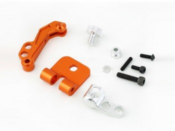 CNC Alloy FPV Monitor Fast Mounting Bracket  Futaba Edition(Gravity adjustable)