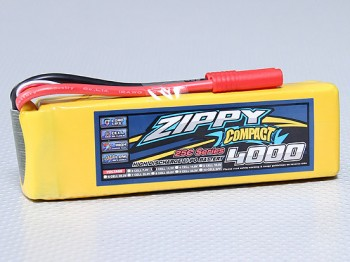 Flightmax Zippy 4000mAh 3S1P 25C battery