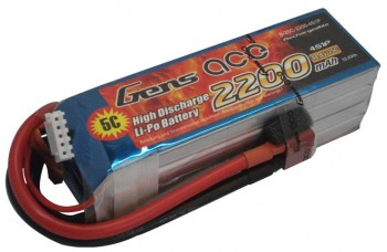 Battery Gens Ace 2200mah 4S 25C/50C