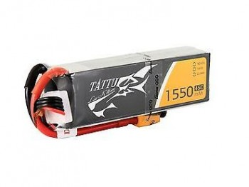 Battery Pack Tattu 1550mAh 14.8V 45C 4S1P