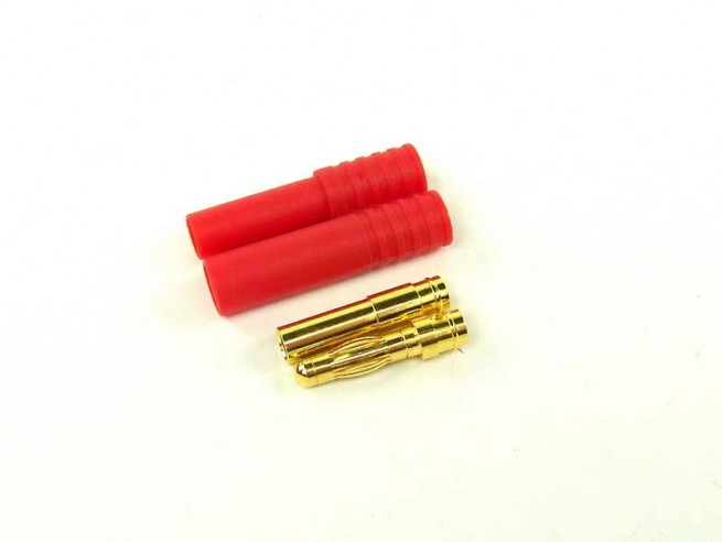 Konektor z osłoną 4mm (Bullet-connector)