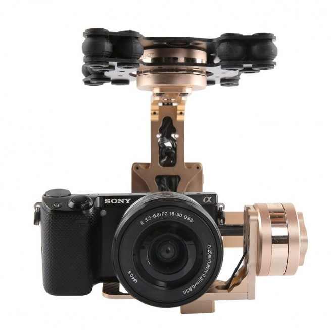 iFlight G40 3 Axis Aerial Gimbal - GOLD EDITION