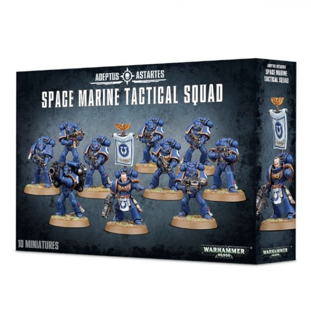 Warhammer 40,000 Space Marine Tactical Squad