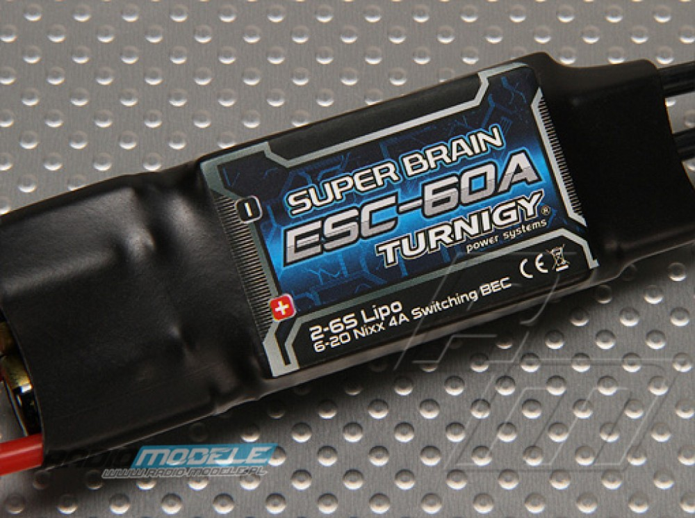 Regulator Turnigy Super Brain 60A Brushless ESC