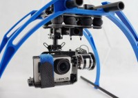 Brushless Gimbal pod Gopro Hero