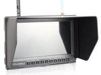 FPV Monitor Feelworld LCD 8\ 800x480 FPV-821 bez blue-screan z diversity oraz baterią