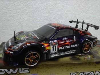 HSP Flaing Fish I auto do driftu 1:10