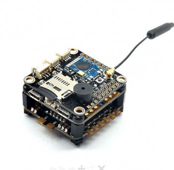 RacerCube Integrated F3 EVO 4 In 1 20A F396 ESC Frsky 8CH PPM/SBUS Receiver for X Racing Frame